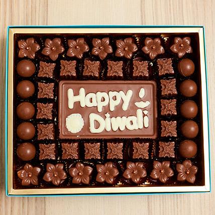 Happy Diwali Limited Edition Chocolate Box: Diwali Chocolates
