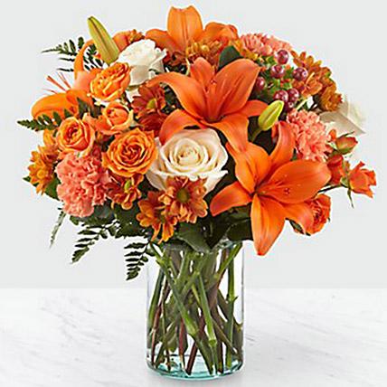Fascinating Floral Arrangement: Thanksgiving Gifts