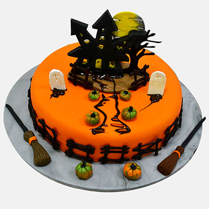 Haunted House Cake: Halloween Cakes