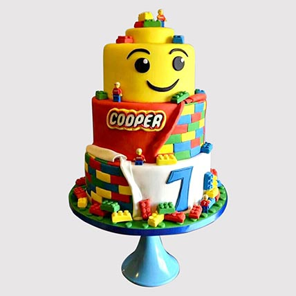 3 Tier Lego Cake: Lego Cakes