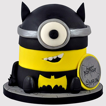 Batman Minion Cake: Batman Birthday Cakes