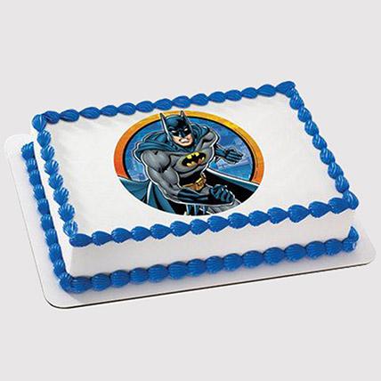 Batman Photo Cake: Batman Birthday Cakes
