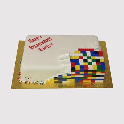 Colourful Lego Cake: Lego Cake
