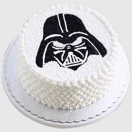 Darth Vader Delicious Cake: Star Wars Birthday Cakes