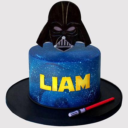 Darth Vader Themed Cake: Star Wars Birthday Cakes