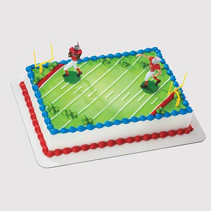 Football Field Cake: Football Cakes