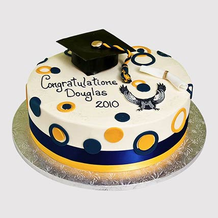 Graduation Fondant Cake: Graduation Cakes