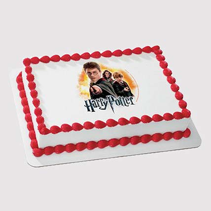 Harry Potter Squad Photo Cake: Harry Potter Cake