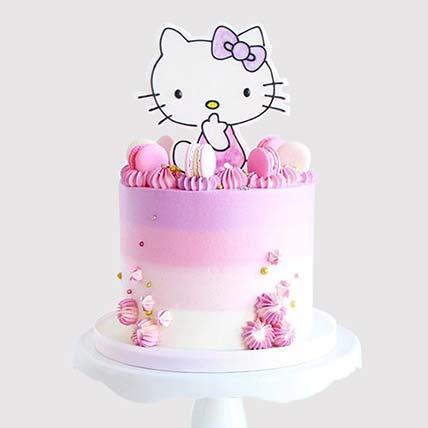 Hello Kitty Colourful Cake: Hello Kitty Cakes