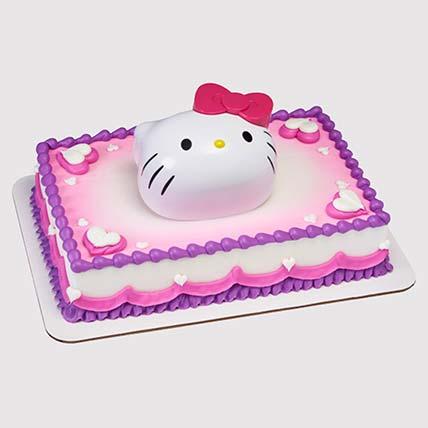 Hello Kitty Theme Cake: Hello Kitty Cakes