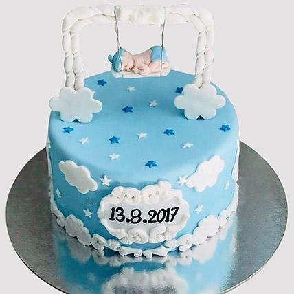 New Born Baby Designer Cake: