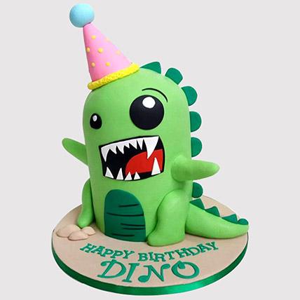 Rawring Dinosaur Cake: Dinosaur Cakes