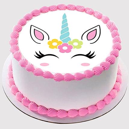Unicorn Smiling Cake: Tinkerbell Cakes