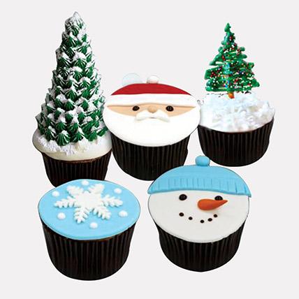 Christmas Fondant Cupcakes: Christmas Cupcakes