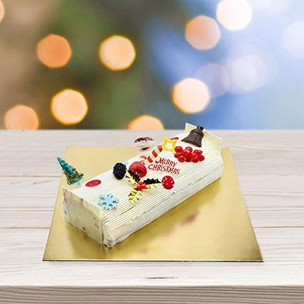 Vanilla Log Cake: Log Cake
