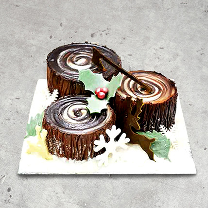 Chocolate Trunk Cake: Designer Cakes  Delivery