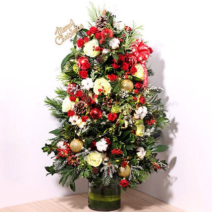 Fresh Flower Christmas Tree: Xmas Trees