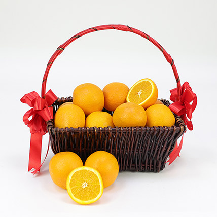 Basket Of Oranges- 3 kgs: Fruit Baskets