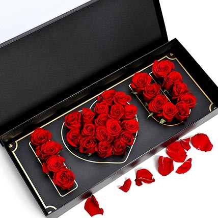 I Love You Red Roses: Valentines Day Flower Arrangements