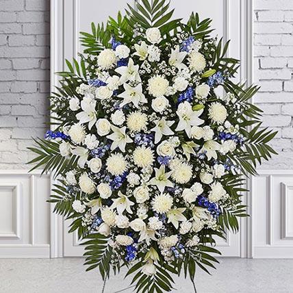 Luxurious Blooms: Flower Wreath
