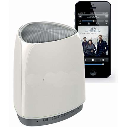 White N Grey Wireless Bluetooth Speaker: Electronics Accessories
