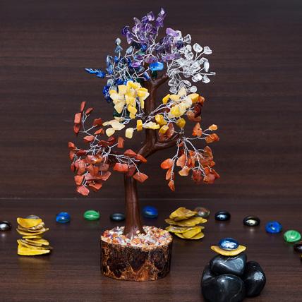 5 Chakra Wish Tree: Friendship Day Gifts