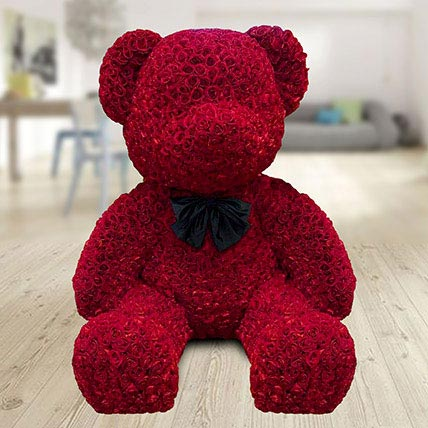 1000 Red Roses Teddy: Christmas Gifts for Girlfriend