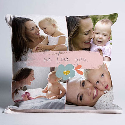 We Love You Personalised Cushion: Personalised Cushions