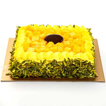 Mango Mousse Cake: Cakes Delivery in Ras Al Khaimah