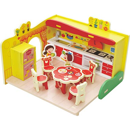 3D Assembly Series Kitchen: Educational Games