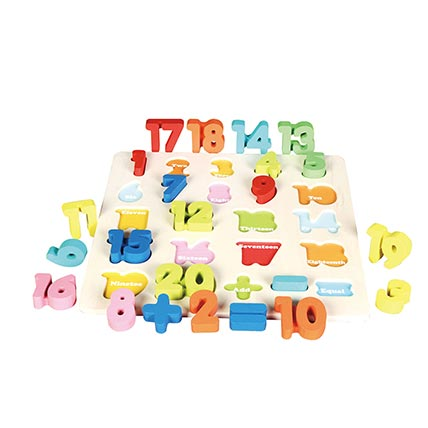 Numeric Puzzle Board: Buy Puzzle for Kids