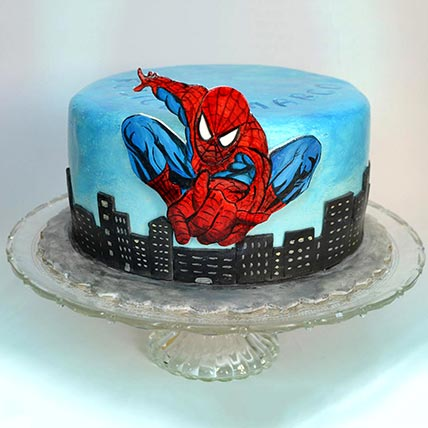 Spiderman Designer Cake: Spiderman Cakes