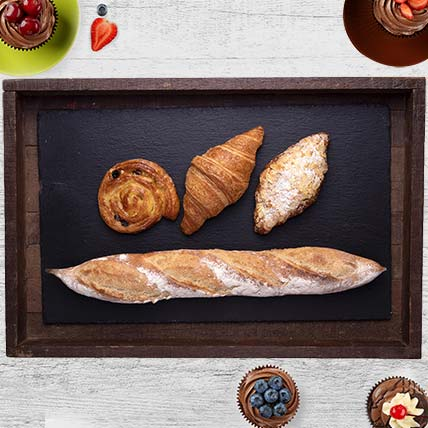 Small Breakfast Hamper: 1 Hour Gift Delivery