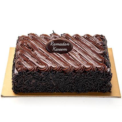 Chocolate Fudge Cake For Ramadan: Ramadan Gifts