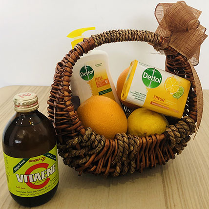 Vitamin C Rich Basket: Self Care Kits