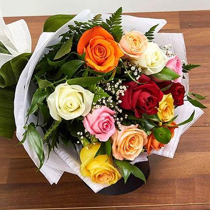Mix Presentation Bunch: Friendship Day Flowers for Girlfriend