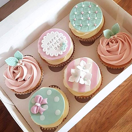 Cupcake Box Delight: Mothers Day Cake