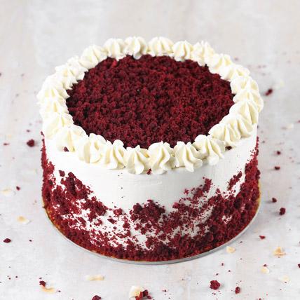 Creamy Red Velvet Cake: Cakes Delivery in Umm Al Quwain