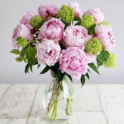 Elegant Pink Beauty: Peonies Bouquets