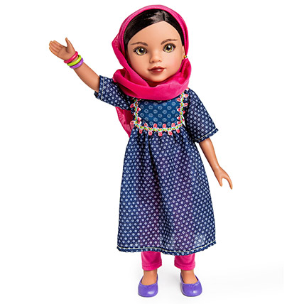 Shola From Afghanistan Doll: