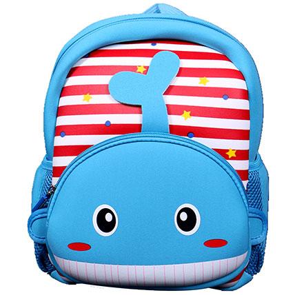 Whale Backpack For Children: Kids Backpack