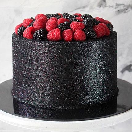 Blueberry Glow Cake: