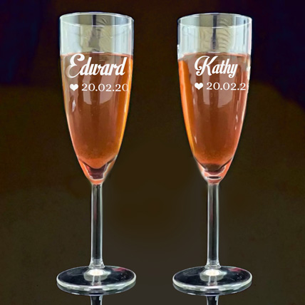 Personalised Engraved Juice Glass: Personalised Gifts