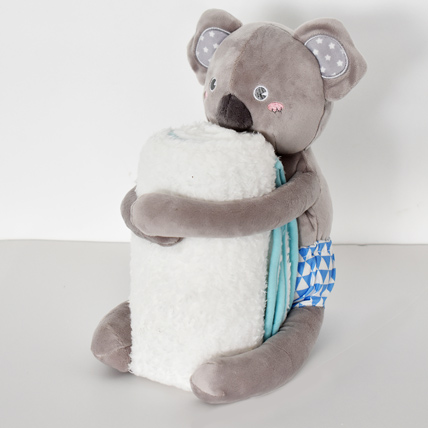 Kuala Soft Toy with Baby Blanket: Soft Toys