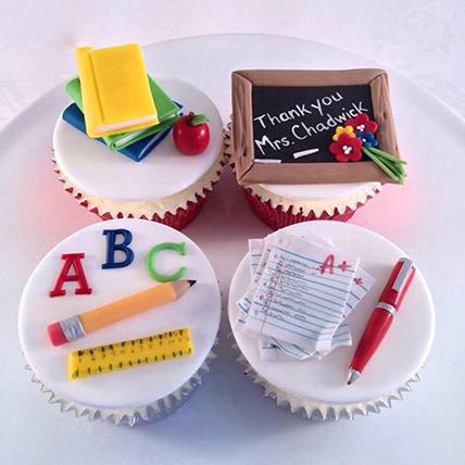 Yummy Cupcake For Teacher: Teachers Day Gifts