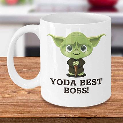 Yoda Best Boss Mug: Unique Gifts for Boss