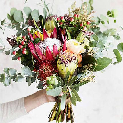 Gorgeous Mix Fall Floral Bouquet: