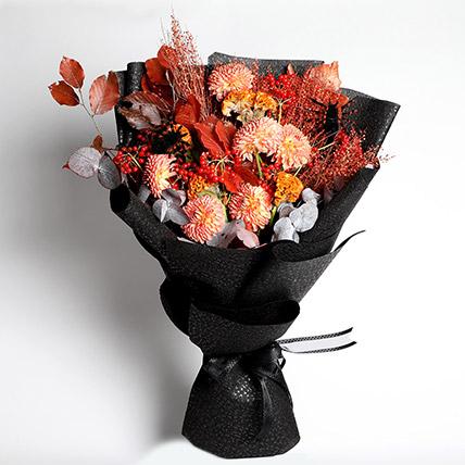 Halloween Floral Bunch: