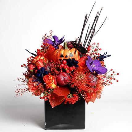 Halloween Special Flower Arrangement: