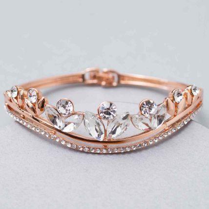 Stone Studded Contemporary Bracelet: Artificial Jewellery